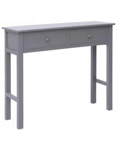 Konsolinis staliukas, pilkas, 90x30x77cm, mediena | Žurnaliniai Staliukai | duodu.lt