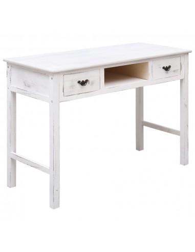 Konsolinis staliukas, sendintos baltos sp., 110x45x76cm, med. | Žurnaliniai Staliukai | duodu.lt