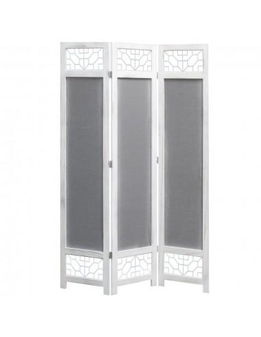 Kambario pertvara, 3 dalių, pilkos spalvos, 105x165cm, audinys   Kambario Pertvaros   duodu.lt