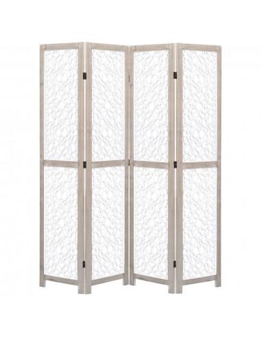 Kambario pertvara, 4d., baltos sp., 140x165cm, medienos masyvas   Kambario Pertvaros   duodu.lt