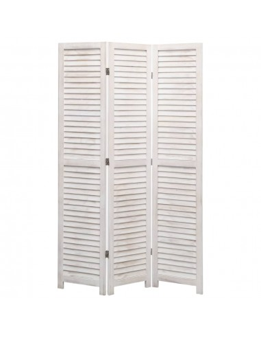 Kambario pertvara, 3 dalių, baltos spalvos, 105x165 cm, mediena | Kambario Pertvaros | duodu.lt