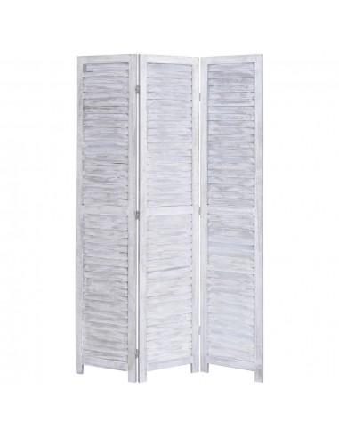 Kambario pertvara, 3 dalių, pilkos spalvos, 105x165 cm, mediena | Kambario Pertvaros | duodu.lt