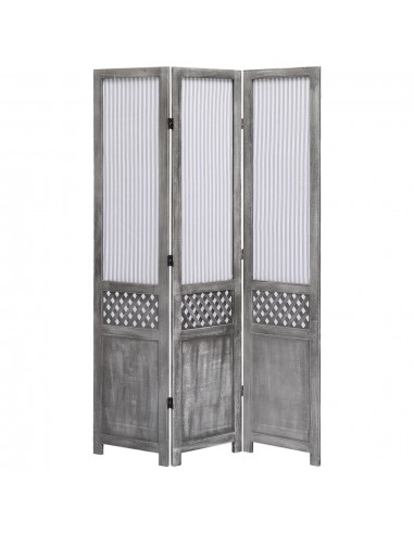 Kambario pertvara, 3 dalių, pilkos spalvos, 105x165cm, audinys | Kambario Pertvaros | duodu.lt