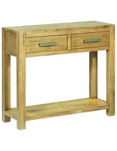 Konsolinis staliukas, 83x30x73cm, neapdorota ąžuolo mediena | Žurnaliniai Staliukai | duodu.lt