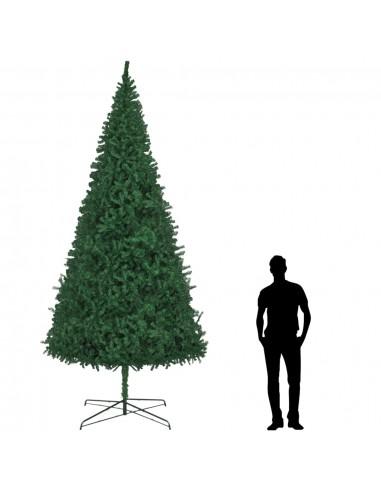 Dirbtinė Kalėdų eglutė, žalia, 400 cm  | Šventiniai papuošimai | duodu.lt