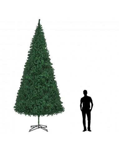 Dirbtinė Kalėdų eglutė, žalia, 500 cm  | Šventiniai papuošimai | duodu.lt