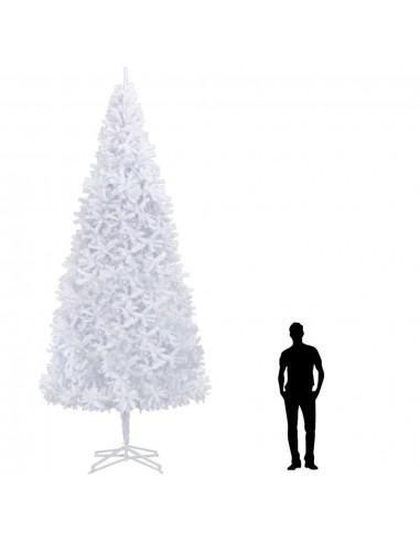 Dirbtinė Kalėdų eglutė, balta, 500 cm    Šventiniai papuošimai   duodu.lt
