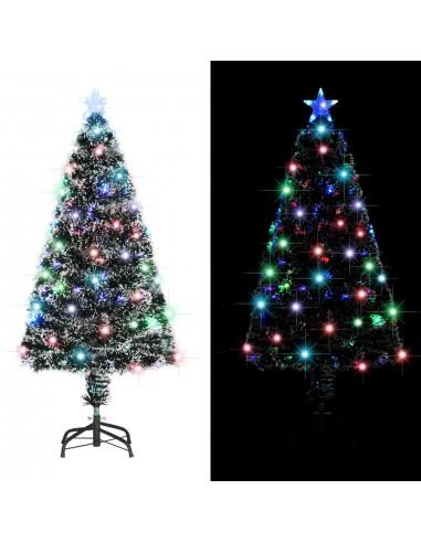Dirbtinė Kalėdų eglutė su stovu/LED lemp., 120 cm, 135 šakos | Šventiniai papuošimai | duodu.lt