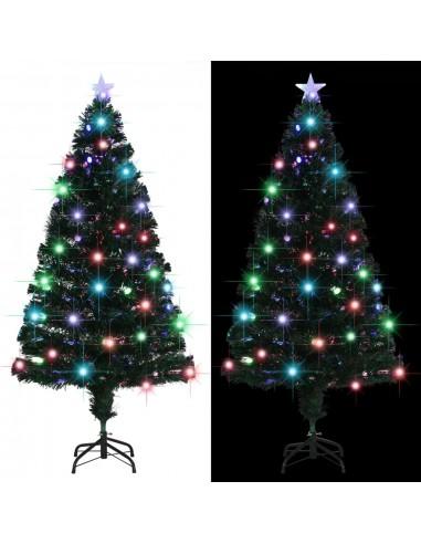 Dirbtinė Kalėdų eglutė su stovu, LED, 150cm, 170 šakų   Šventiniai papuošimai   duodu.lt