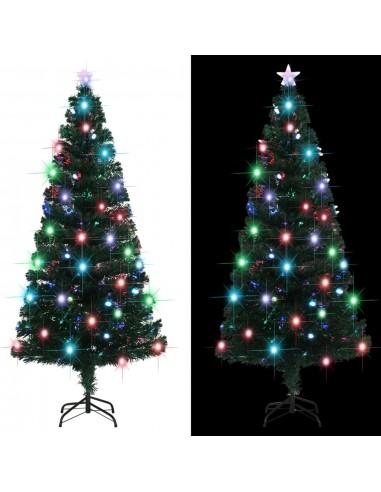 Dirbtinė kalėdinė eglutė su stovu, LED, 180cm, 220 šakų | Šventiniai papuošimai | duodu.lt