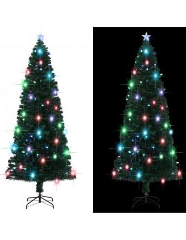 Dirbtinė Kalėdų eglutė su stovu/LED lemp., 240 cm, 380 šakų | Šventiniai papuošimai | duodu.lt