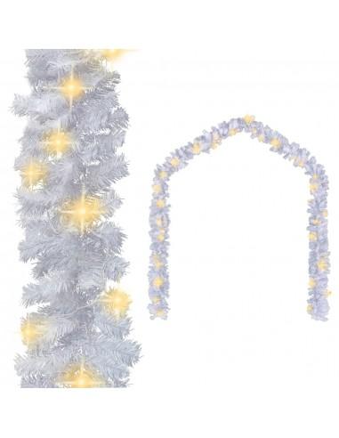 Kalėdinė girlianda su LED lemputėmis, balta, 20 m   Šventiniai papuošimai   duodu.lt