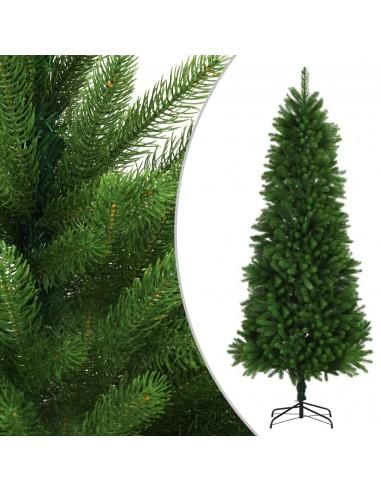 Dirbtinė Kalėdų eglutė, žalia, 240cm, tikrų spyglių imitacija | Šventiniai papuošimai | duodu.lt