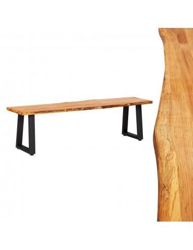 Suoliukas, natūralios spalvos, 160 cm, ąžuolo medienos masyvas | Sandėlio ir Prieangio Suolai | duodu.lt