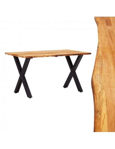 Valgomojo stalas, 140x80x75cm, ąžuolo medienos masyvas | Virtuvės ir Valgomojo Stalai | duodu.lt