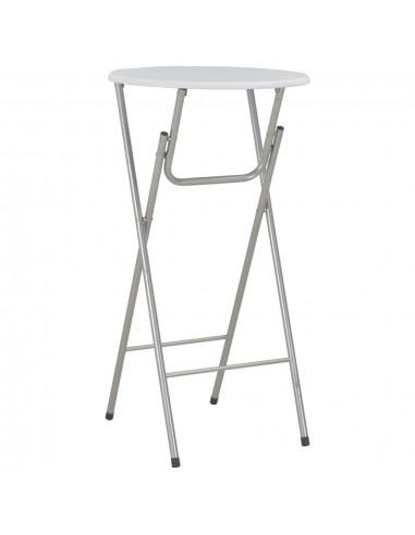 Baro stalas, baltos sp., 60x112 cm, MDF | Sulankstomi Staliukai | duodu.lt