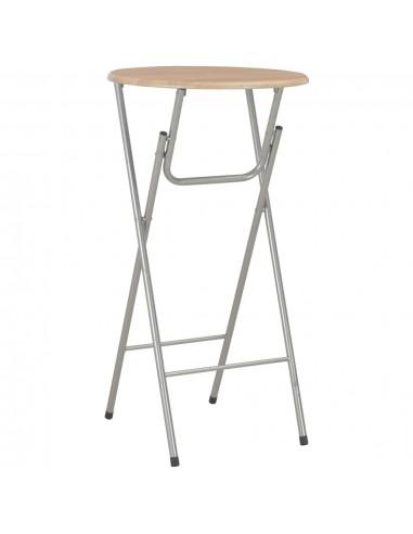 Baro stalas, ąžuolo sp., 60x112 cm, MDF   Sulankstomi Staliukai   duodu.lt