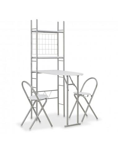 Sul. valg. baldų kompl. su lent., 3d., balt. sp., MDF ir plien. | Virtuvės ir Valgomojo Baldų Komplektai | duodu.lt