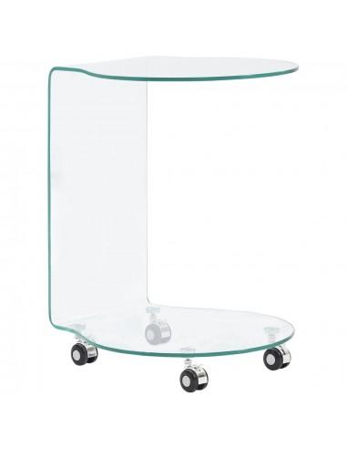 Kavos staliukas, 45x40x58 cm, grūdintas stiklas | Kavos Staliukai | duodu.lt