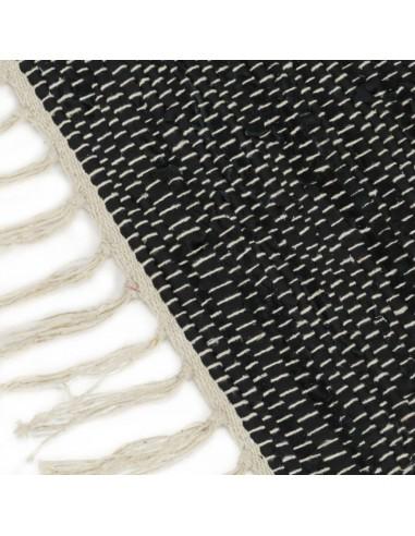 Pagalvėlių rinkinys, 2vnt., PU, 45x45cm, juodos spalvos   Dekoratyvinės pagalvėlės   duodu.lt