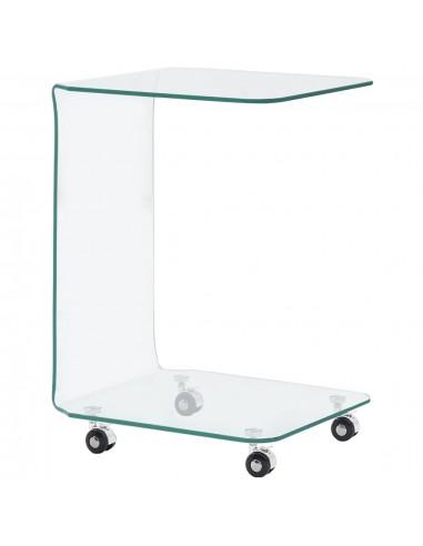 Kavos staliukas, 45x40x63 cm, grūdintas stiklas | Kavos Staliukai | duodu.lt