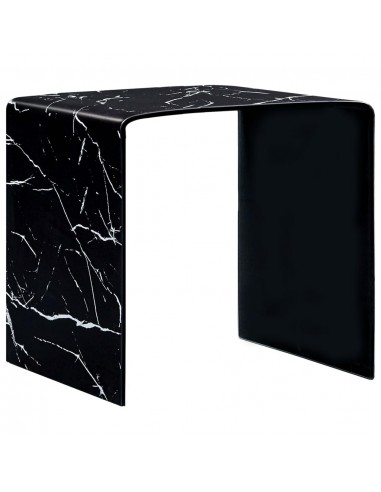 Kavos staliukas, juodas, 50x50x45cm, grūdintas stiklas  | Kavos Staliukai | duodu.lt