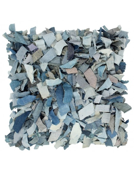 Modernus kilimas, gėlėtas diz., 80x150cm, smėlio/mėlyna | Kilimėliai | duodu.lt