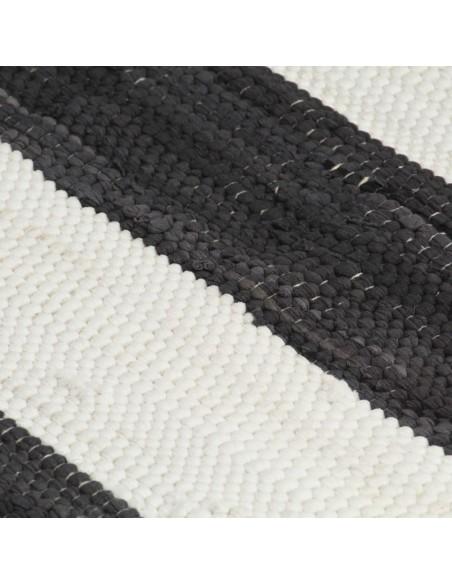Modernus kilimas, zigzagų raštas, 80x150cm, rud./juod./mėl. | Kilimėliai | duodu.lt