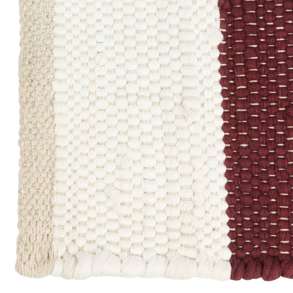 Modernus kilimas, zigzagų raštas, 180x280cm, rud./juod./mėl.   Kilimėliai   duodu.lt