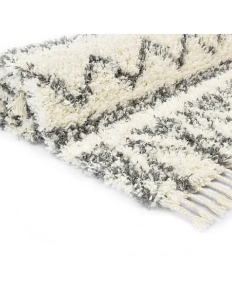 Modernus kilimas, zebro raštas, 80x150cm, smėlio sp./juodas | Kilimėliai | duodu.lt