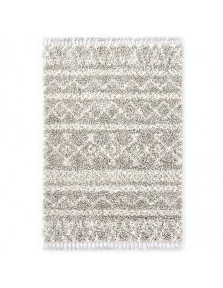 Modernus kilimas, zebro raštai, 140x200cm, smėlio/juodas | Kilimėliai | duodu.lt