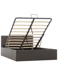 vidaXL Bistro baldų komplektas, 3d., rudos sp., plastikas | Lauko Baldų Komplektai | duodu.lt