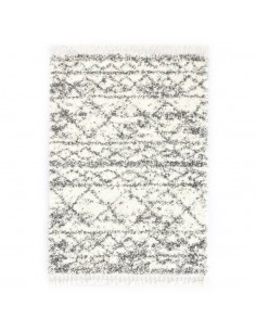 Modernus kilimas, geometr. diz., 140x200cm, smėlio/juodas   Kilimėliai   duodu.lt