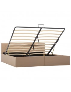 vidaXL Lauko valgomojo baldų komplektas, 7d., rudos sp., plastikas | Lauko Baldų Komplektai | duodu.lt