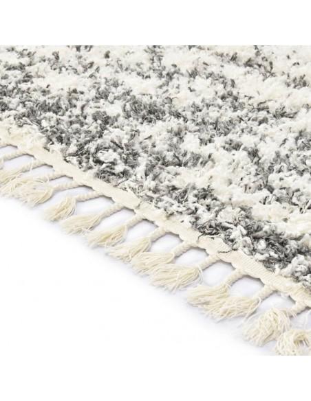 Modernus kilimas, geometr. dizainas, 160x230cm, smėlio/juodas | Kilimėliai | duodu.lt