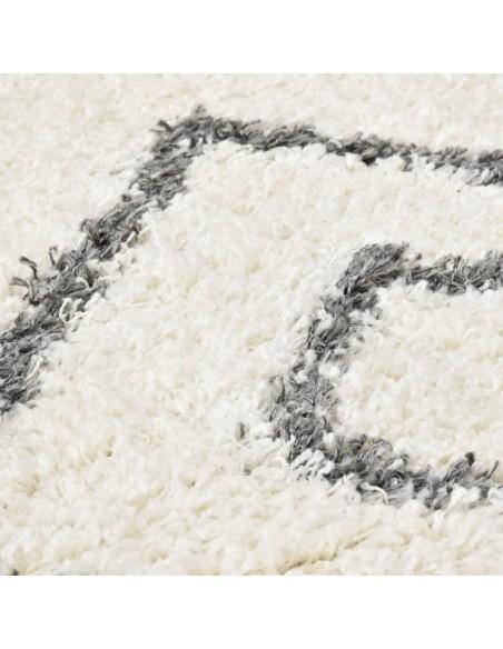 Shaggy tipo kilimėlis, 160x230cm, kreminės spalvos  | Kilimėliai | duodu.lt