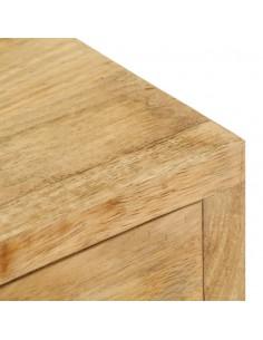 Suoliukas su stalčiais, rudos spalvos, 80 cm, dirbtinė oda | Sandėlio ir Prieangio Suolai | duodu.lt