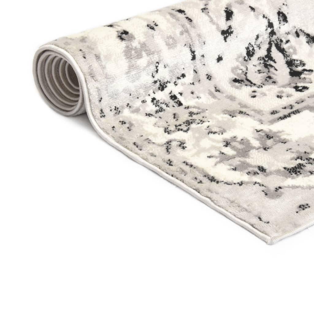 Sizalio išvaizdos vidaus/lauko kilimas, 80x150cm, tams. pilkas  | Kilimėliai | duodu.lt