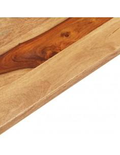 vidaXL Lova su čiužiniu, ruda, 160x200cm, audinys  | Lovos ir Lovų Rėmai | duodu.lt