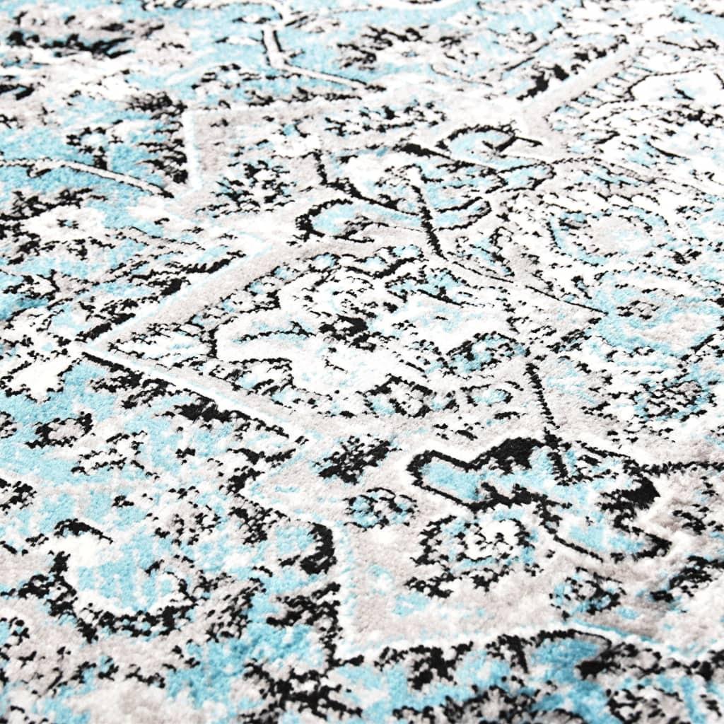 Sizalio išvaizdos vidaus/lauko kilimas, 140x200cm, pilkas  | Kilimėliai | duodu.lt