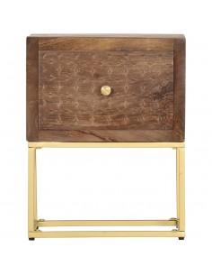 vidaXL Valgomojo kėdės, 4 vnt., tams. rudos sp., dirbt. oda, gembinės | Virtuvės ir Valgomojo Kėdės | duodu.lt
