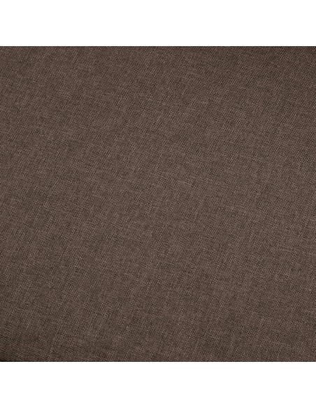 Masažinis gultas su pagalve, rudas, dirbtinė versta oda | Kėdės su atlošu | duodu.lt
