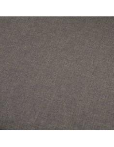 Poilsio gultas, pilkas, dirbtinė versta oda | Kėdės su atlošu | duodu.lt