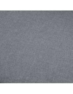 vidaXL Suoliukas, rudos spalvos, 139,5cm, poliesteris | Sandėlio ir Prieangio Suolai | duodu.lt