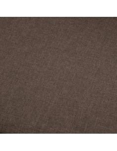 Poilsio gultas su pagalve, rudas, dirbtinė oda | Kėdės su atlošu | duodu.lt