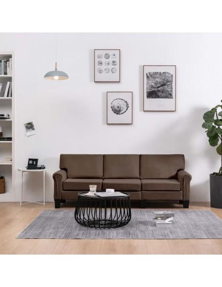 Masažinis gultas su pagalve, pilkas, dirbtinė oda | Kėdės su atlošu | duodu.lt