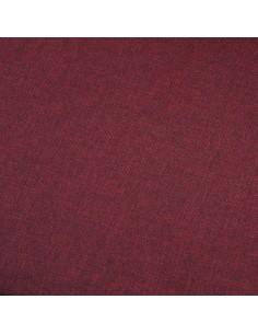 Trivietė sofa, vyno raudonos spalvos, audinys | Sofos | duodu.lt