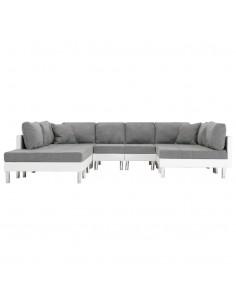 Dvivietė sofa, mėlyna, audinys | Sofos | duodu.lt