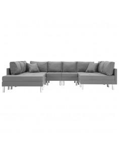 Dvivietė sofa, juoda, audinys | Sofos | duodu.lt