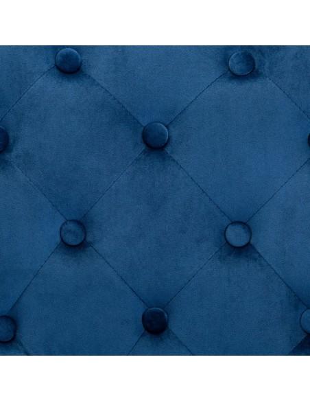Paklodės vaikų lovelėms, 4vnt., mėlynos, 70x140cm, medvilnė | Patalynė | duodu.lt